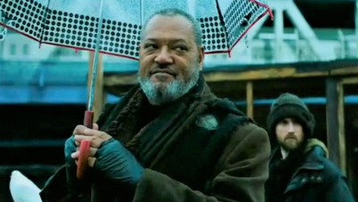 How did they get Lawrence Fishburne when he believed he did not leave any footprints that could be traced?