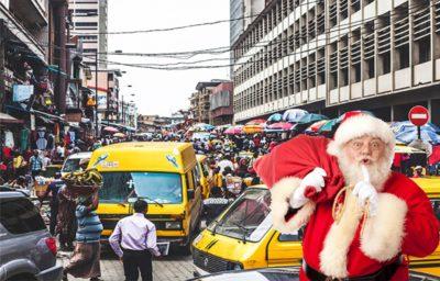 Santa's Top Gifts to Lagosians this Christmas