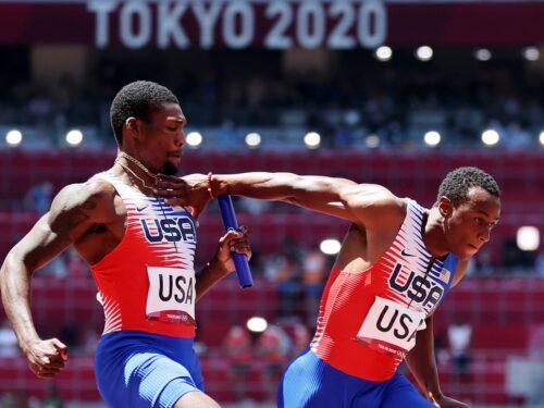 US athletics men's relay team Tokyo Olympics